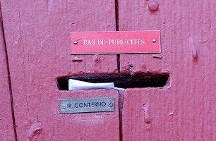 Pink letter slot