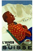 Suisse Hiver poster