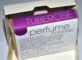 Tauer Perfumes Majestic Tuberose soap