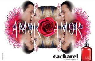 Cacharel Amor Amor advert