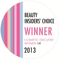 CEW UK Beauty Awards  2013 logo