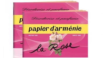 Papier d'Armenie, La Rose