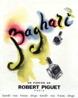 Baghari by Robert Piguet, advert