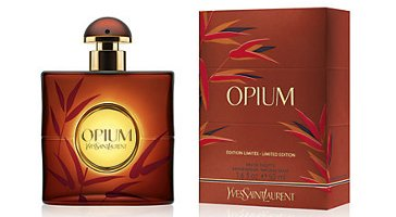 YSL Opium, limited edition bottle 2013