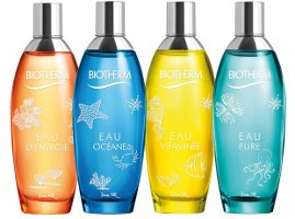 Biotherm Eaux, illustrated by Kera Till