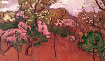 Springtime Landscape, Béla Iványi-Grünwald