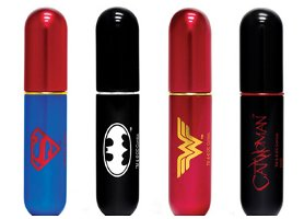 Travalo atomizers, Justice League