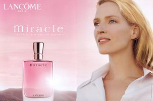Uma Thurman for Lancome Miracle