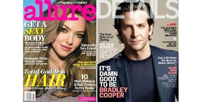 Covers, Allure and Details, May 2013