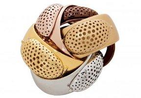 Tom Binns for Lisa Hoffman, cuff bracelets