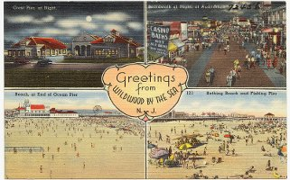 Wildwood NJ postcard