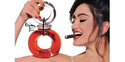 Bijan for Women fragrance advert
