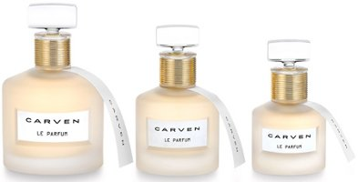 Carven Le Parfum, flacon 3 sizes