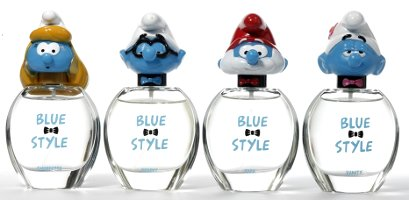 Smurfs Blue Style