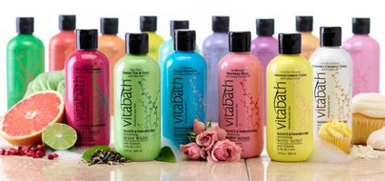 Vitabath Moisturizing Body Wash and Hydrating Lotion