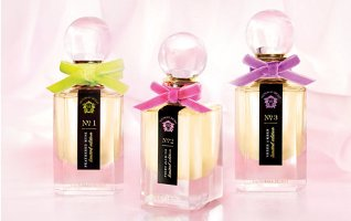 Victoria's Secret No. 1 Feathered Musk, No. 2 Night Jasmine & No. 3 Sheer Amber
