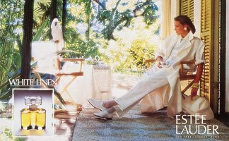Estée Lauder White Linen, advert