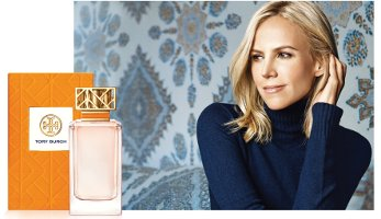Tory Burch fragrance advert