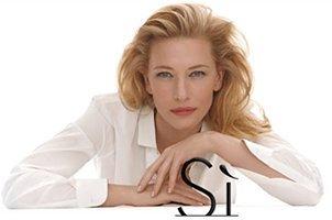 Cate Blanchett for Giorgio Armani Sì