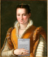 Bianca Cappello De Medici with Her Kindle, after Alessandro Allori
