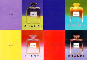 Chanel No. 5, Warhol advert