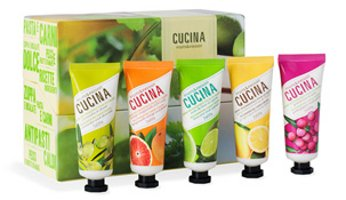 Cucina hand cream recipe box gift set