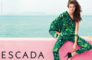 Escada fashion advert