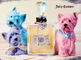 Juicy Couture fragrance ad
