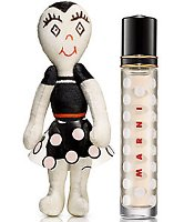 Marni rose, travel spray with Bambolina doll