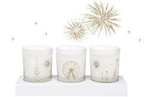 Maison Francis Kurkdjian holiday candle trio