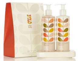 Orla Kiely Geranium hand care set
