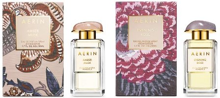 Aerin Amber Musk & Evening Rose fragrances