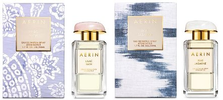 Aerin Lilac Path and Ikat Jasmine