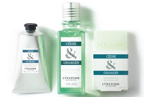 L'Occitane Cèdre & Oranger collection