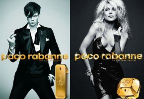 Paco Rabanne 1 Million and Lady Million adverts