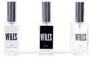 VFiles Homme, Femme & Sport scents