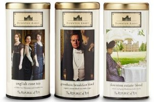 Republic of Tea scented tea trio, Downton Abbey