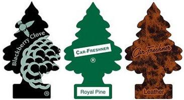 Car-Freshner Little Tree air fresheners