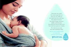 Johnson & Johnson baby powder ad