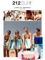 Carolina Herrera 212 Surf advert