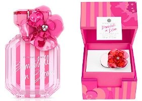 Victoria's Secret Bombshells in Bloom Eau de Parfum and solid perfume ring