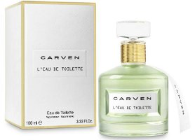 Carven L'Eau de Toilette bottle and box