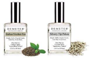 Demeter Silvery Tip Pekoe and Baihao Yinzhen Tea