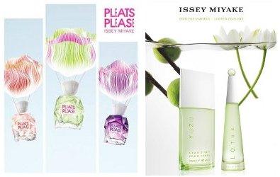 Issey Miyake Pleats Please L'Eau, L'Eau d'Issey Lotus & L'Eau d'Issey Pour Homme Yuzu