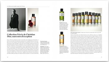 Rare Perfumes, interior page, Christian Dior