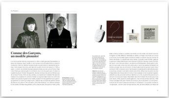 Rare Perfumes, interior page, Comme des Garçons