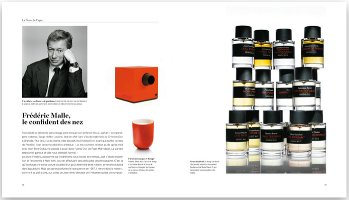 Rare Perfumes, interior page, Frédéric Malle