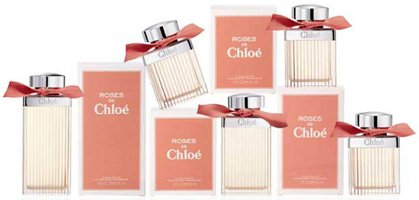 Chloé Roses de Chloé, flacon and packaging
