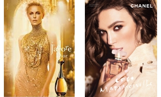 J'Adore and Coco Mademoiselle adverts