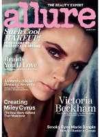 Allure, March 2014 cover Victoria Beckham